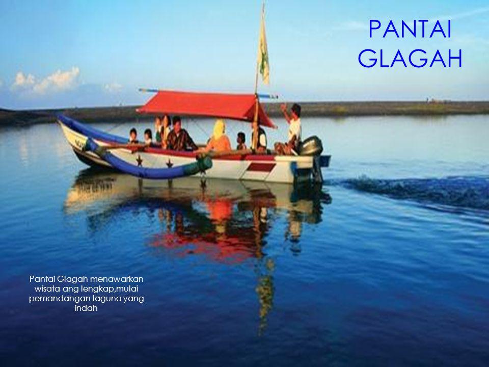 Pantai Glagah menawarkan wisata ang lengkap,mulai pemandangan laguna yang indah PANTAI GLAGAH