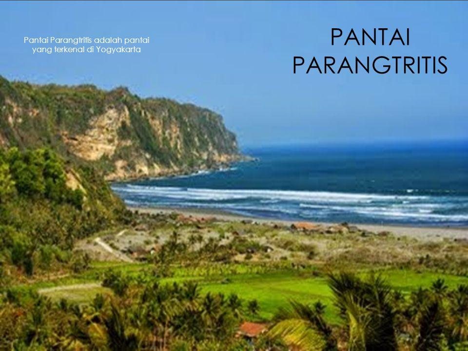 PANTAI PARANGTRITIS Pantai Parangtritis adalah pantai yang terkenal di Yogyakarta