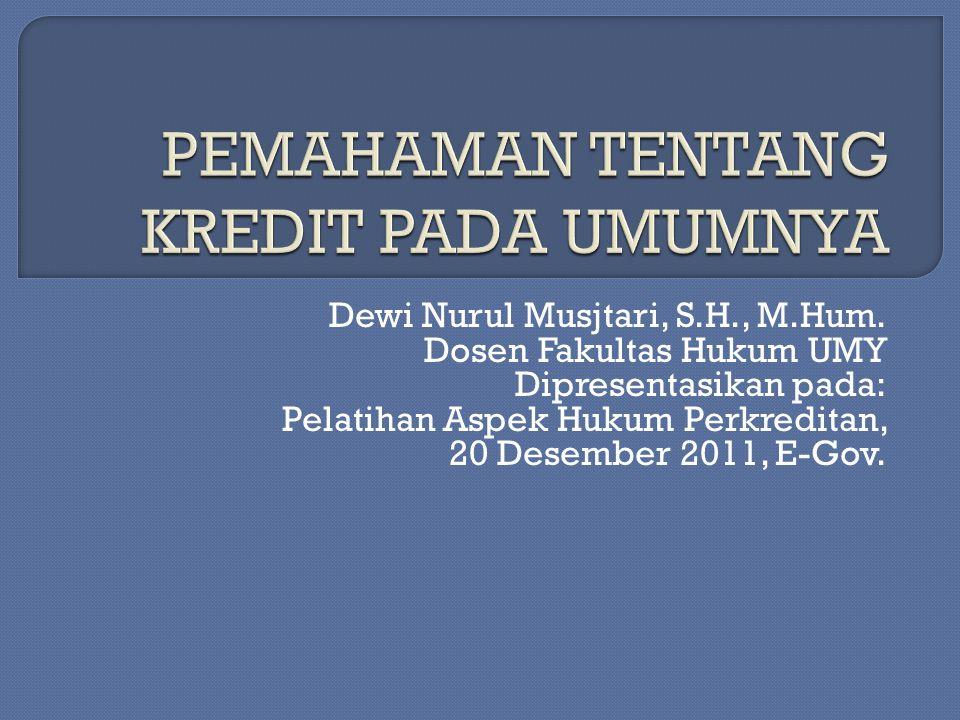 Dewi Nurul Musjtari, S.H., M.Hum.