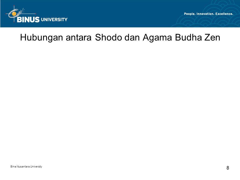 8 Hubungan antara Shodo dan Agama Budha Zen