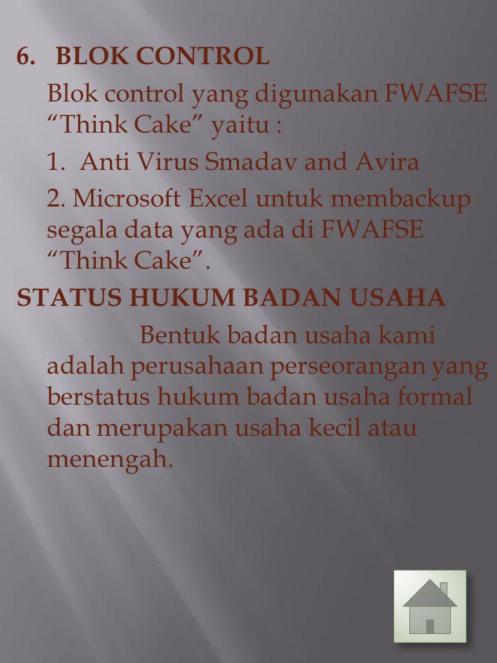 "2. BLOK OUTPUT Blok output yang digunakan FWAFSE ""Think Cake"" yaitu : 1. Printer 2. Monitor 3. BLOK MODEL Blok model yang digunakan FWAFSE ""Think Cake"