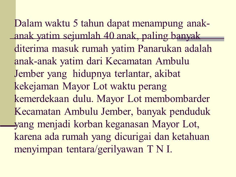 Setelah melaui musyawarah beberapa kali dengan tekad yang bulat diputuskan bahwa pada Konprensi Tabligh Muhammadiyah Se Ex Karesedinan Besuki yang dit