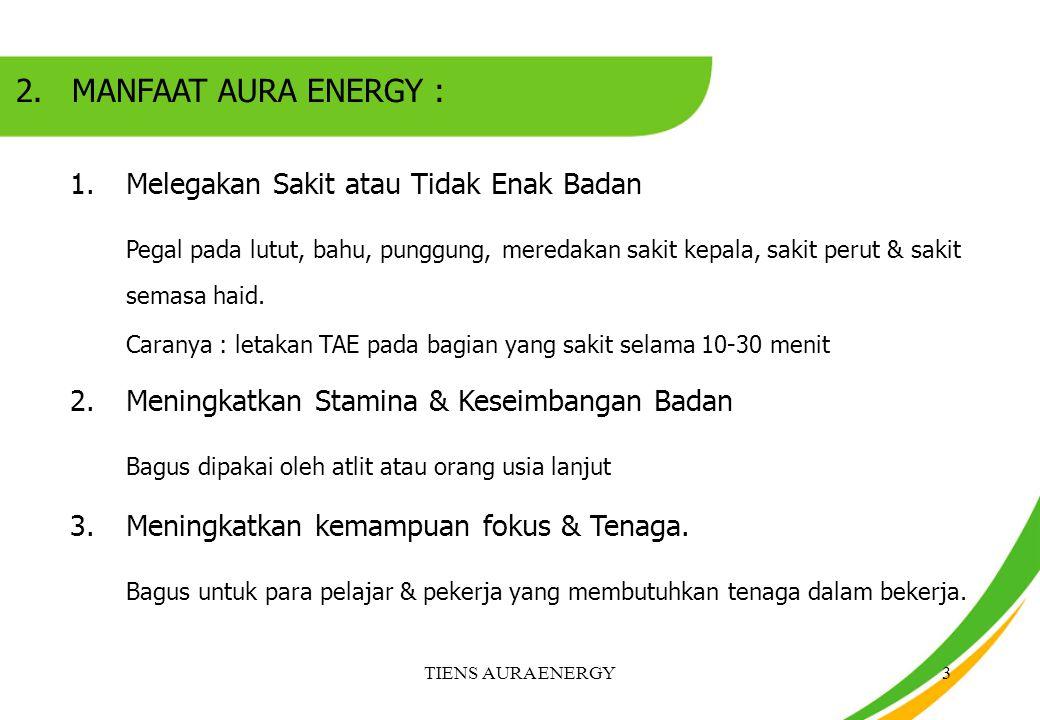 TIENS AURA ENERGY4 4.