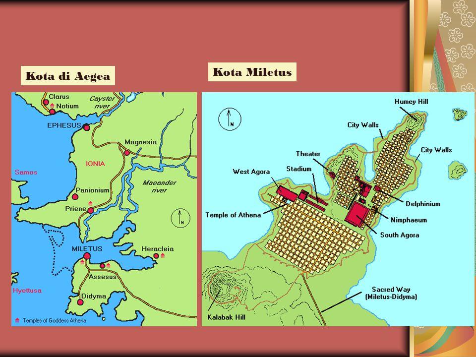 Kota di Aegea Kota Miletus