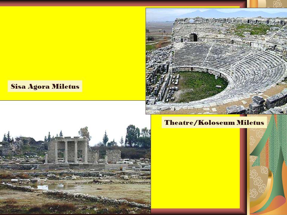 Sisa Agora Miletus Theatre/Koloseum Miletus
