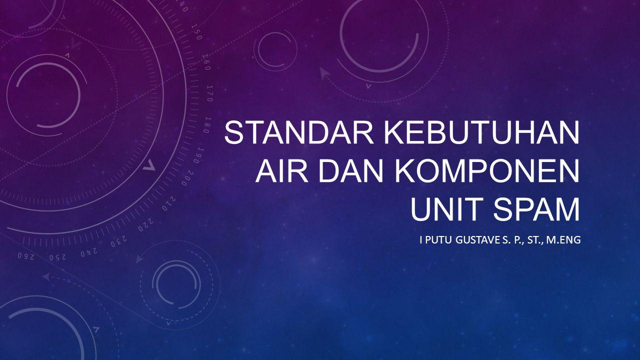 LANDASAN HUKUM Undang-Undang Nomor 7 Tahun 2004 tentang Sumber Daya Air Peraturan Pemerintah Repbulik Indonesia Nomor : 42 Tahun 2008 tentang Pengelolaan Sumber Daya Air PP No.
