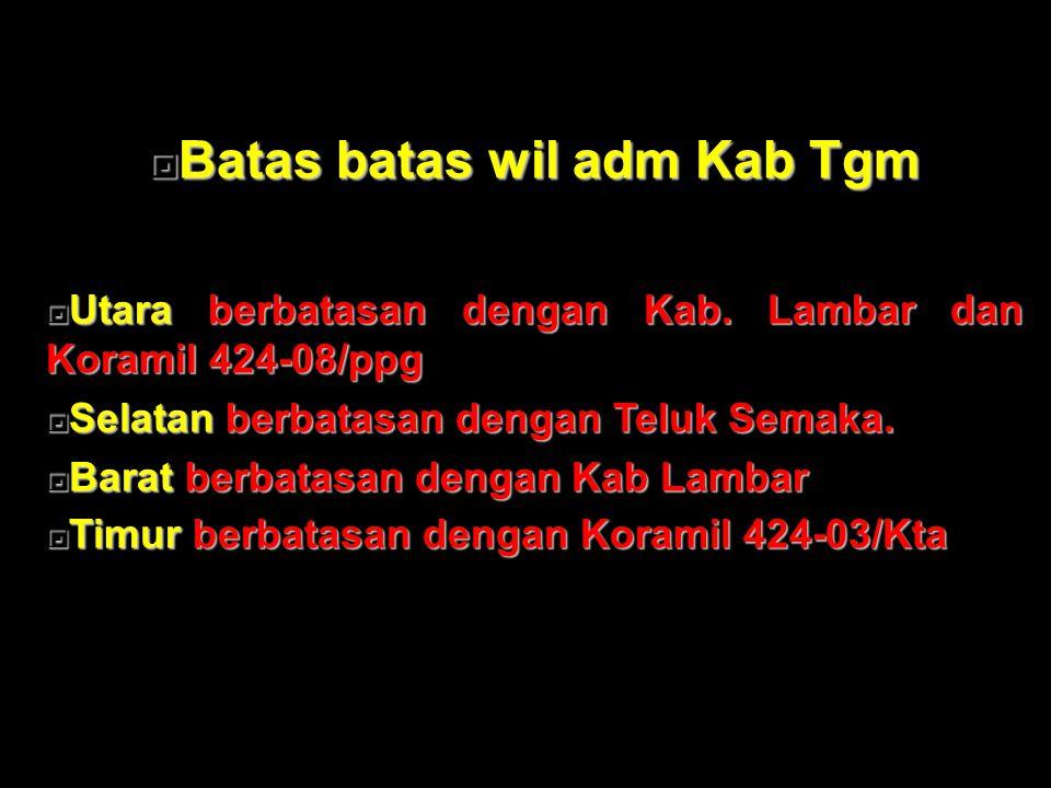 Koramil424-02/Wonosobo Koramil 424-02/Wsb Membina 3 kecamatan dan 61 Pekon.
