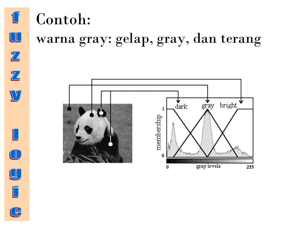 Contoh: warna gray: gelap, gray, dan terang