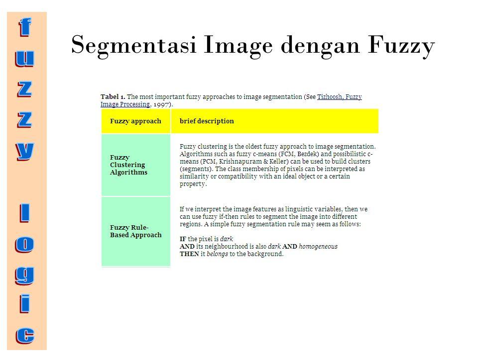 Segmentasi Image dengan Fuzzy