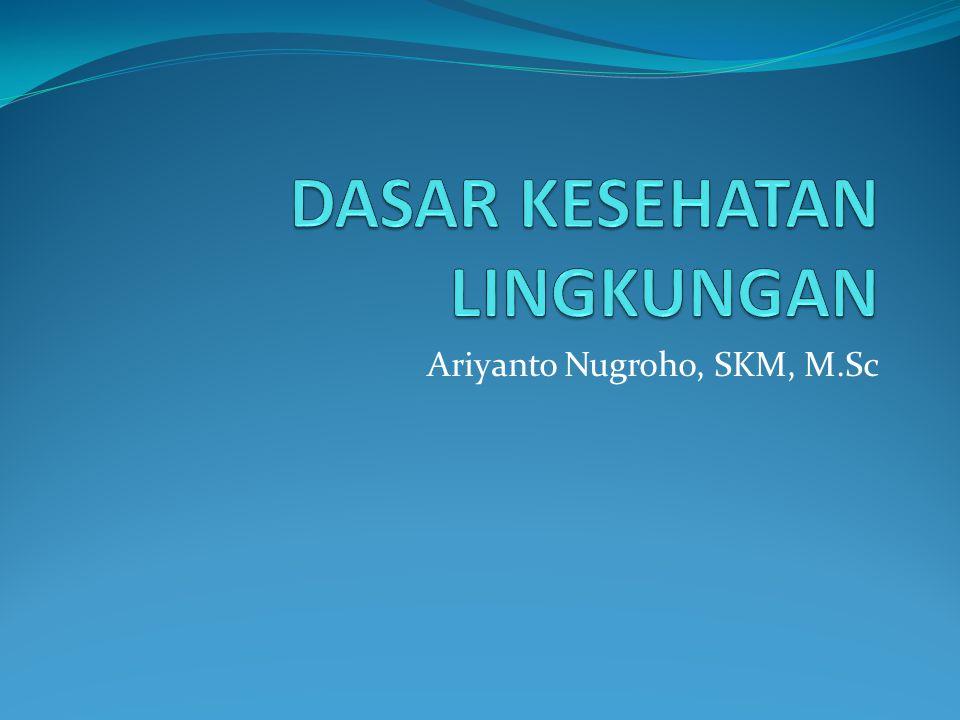 Ariyanto Nugroho, SKM, M.Sc