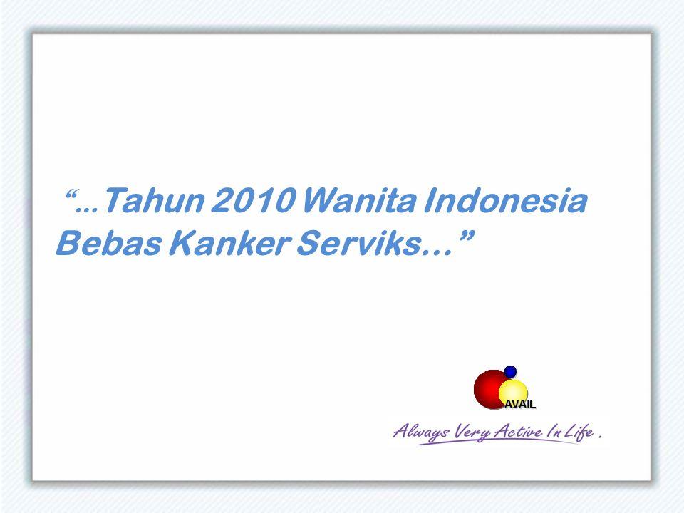 … Tahun 2010 Wanita Indonesia Bebas Kanker Serviks… AVAIL