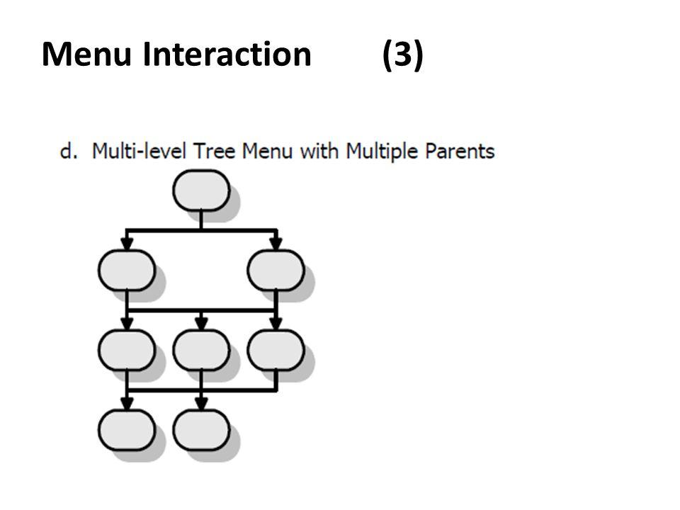 Menu Interaction (3)
