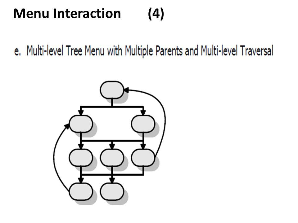 Menu Interaction (4)