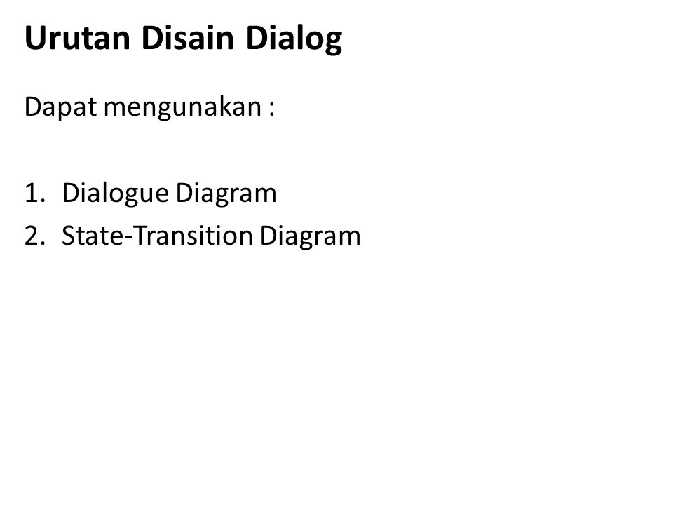 Design Specification 1.Narrative Overview a. Interface/Dialogue Name b.