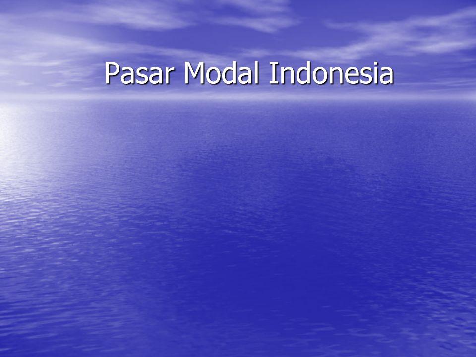 Hambatan Pasar Modal di Indonesia 1.Rendahnya SDM 2.