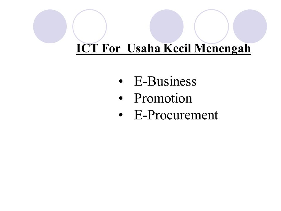 ICT For CAMPUS IP Phone Hallo Perguruan Tinggi SMS CAMPUS e-learning Layanan Akademik