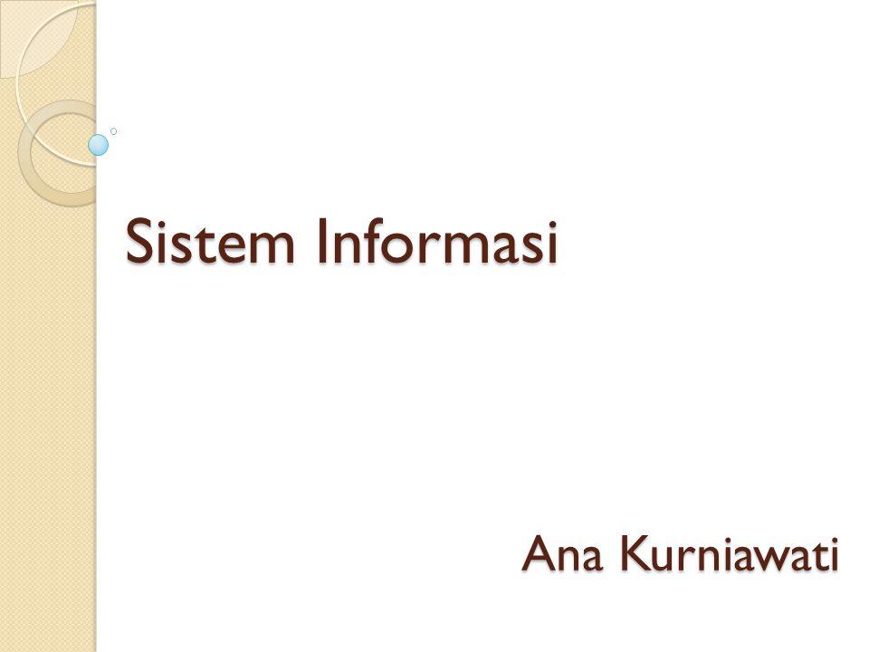 Sistem Informasi Ana Kurniawati