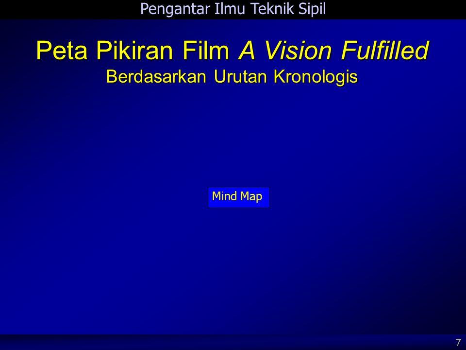 Pengantar Ilmu Teknik Sipil 7 Peta Pikiran Film A Vision Fulfilled Berdasarkan Urutan Kronologis Mind Map