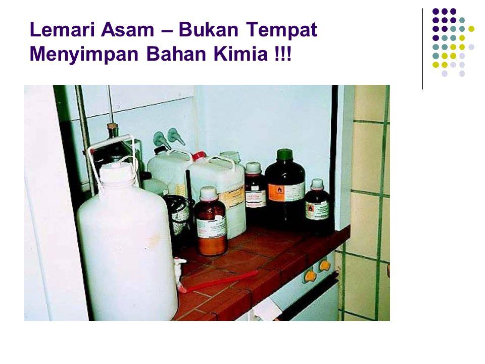 Penyimpanan dan Penanganan Bahan Kimia Berbahaya dan Beracun