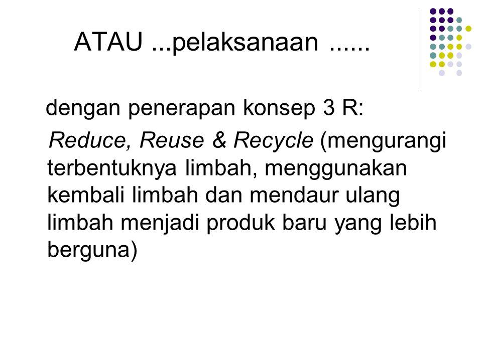 Produksi bersih Produksi Bersih atau Cleaner Production adalah : suatu strategi pengelolaan lingkungan yang bersifat preventif dan terintegrasi untuk