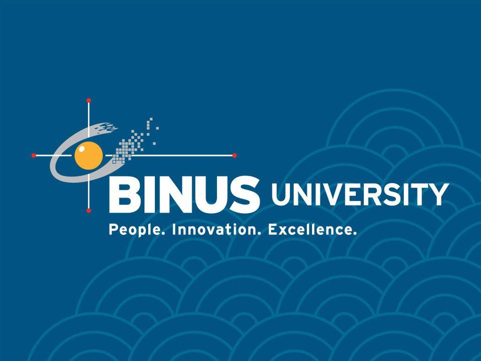 Bina Nusantara University 32 Direct & Indirect Illumination Direct IlluminationIndirect Illumination