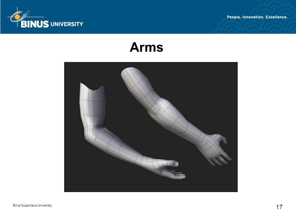 Bina Nusantara University 17 Arms