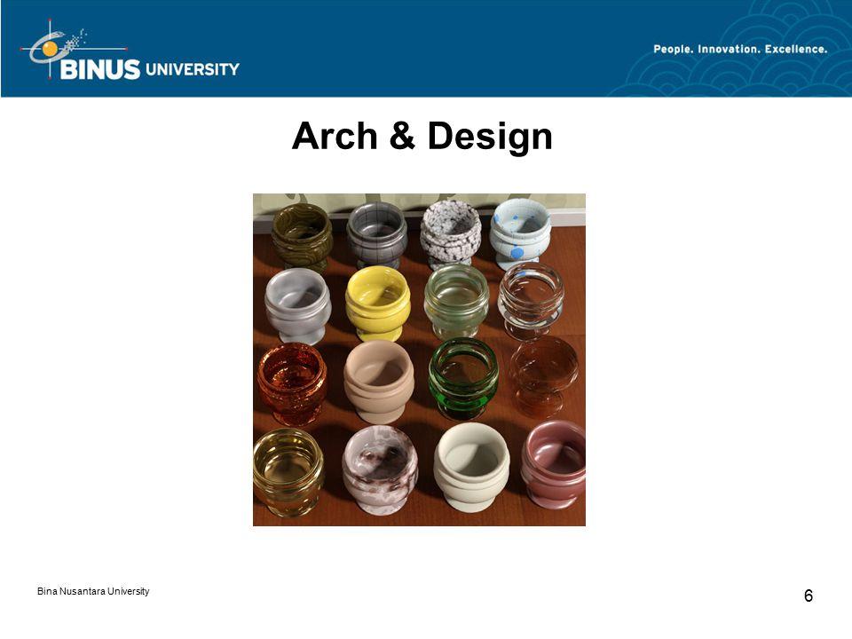 Bina Nusantara University 6 Arch & Design