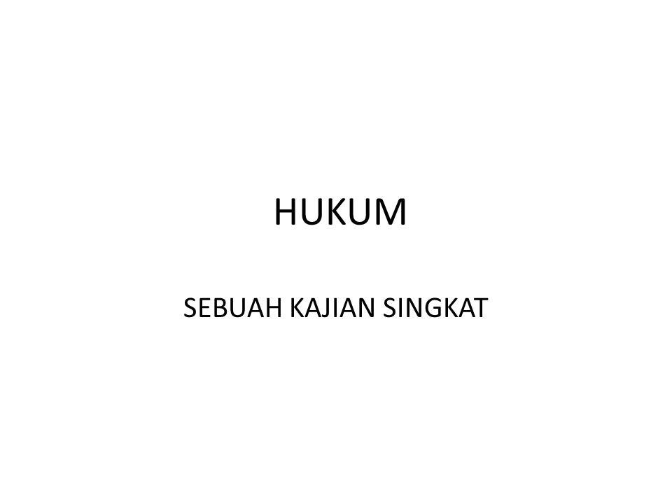 RATIO IDIIL HASRAT SUSILA HKM MANUSIA RIIL BUDAYA LINGKUNGAN UNSUR-UNSUR YANG MEMBENTUK HUKUM