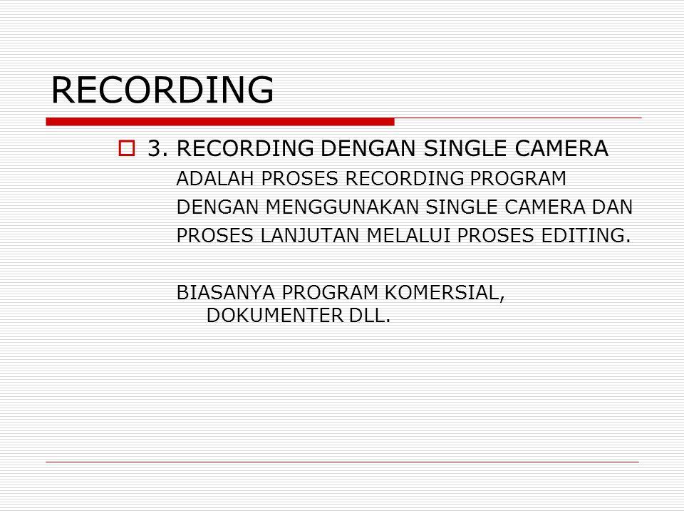 RECORDING  3.