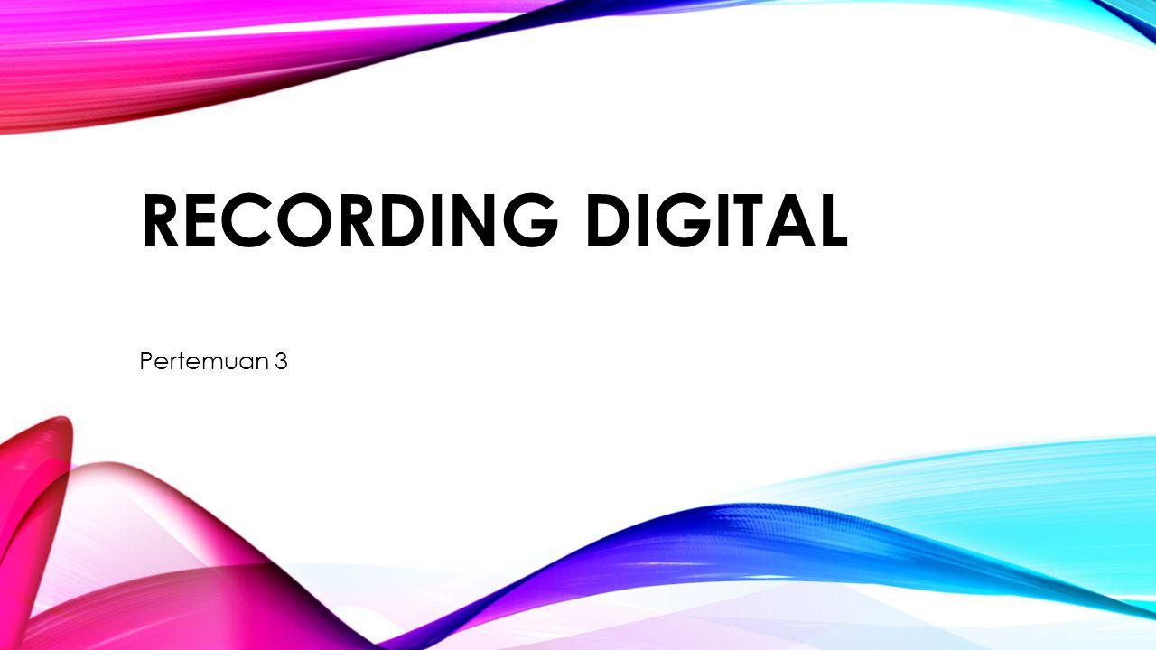 EDITING RECORDING DIGITAL Apple QuickTime Player Pro, ditunjukkan dalam Gambar 2 ‑ 1, menyediakan tampilan dasar struktur file suara dan mengizinkan pemutaran primitif dan editing Editor suara yang lebih maju adalah Sonic Foundry Sound Forge for Windows, ditunjukkan oleh Gambar 2 ‑ 2 dengan menu efek khusus Gambar 2 ‑ 1