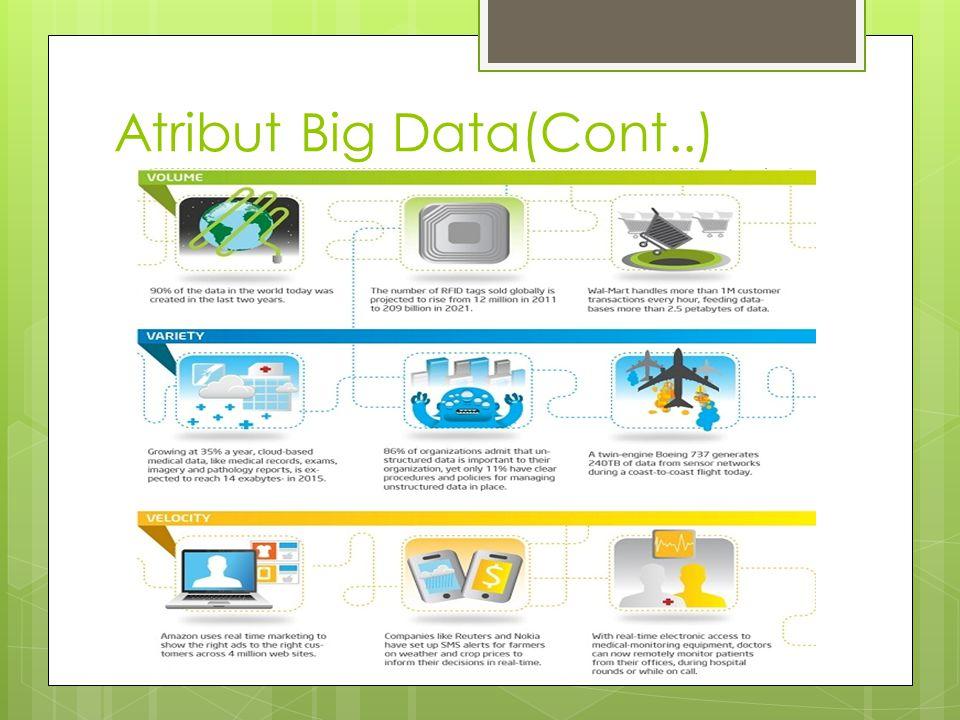 Atribut Big Data(Cont..)