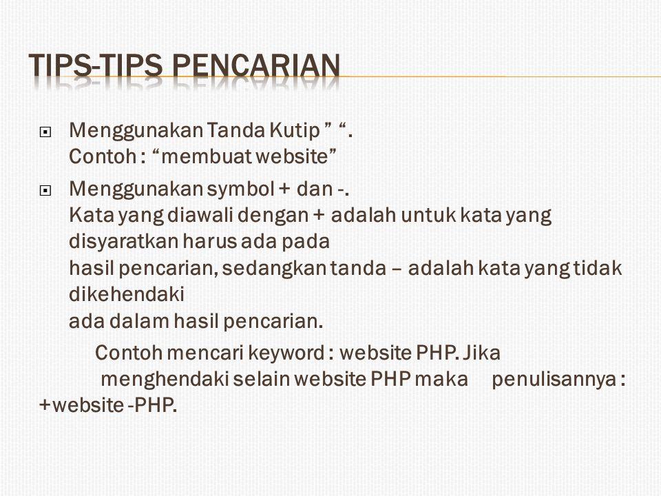  Mencari file dalam format tertentu saja.Gunakan keyword filetype:.
