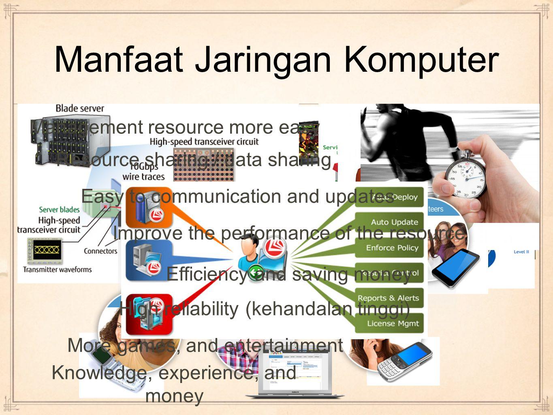 Goal of Network Simple (sederhana) Manageable (mudah dikelola) Adaptable and scalable (mudah beradaptasi & dikembangkan) Reliable (handal) Transparent (terbuka / mudah dikenal / diakses) The network should be: