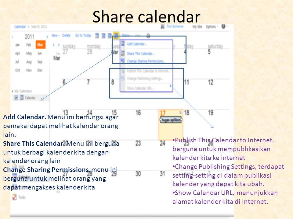 Scheduling assistant Mengatur jadwal janji atau event tersebut