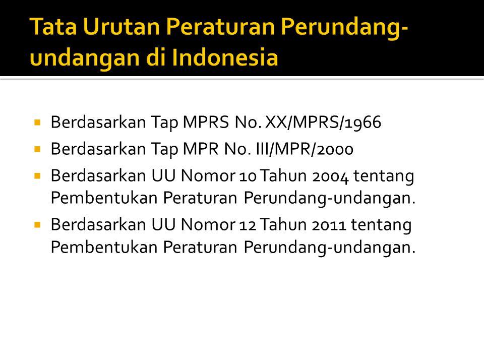 Tap MPRS No.XX/MPRS/1966 Tap MPR No.