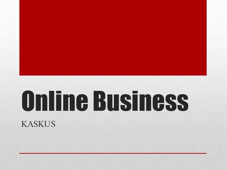Online Business KASKUS