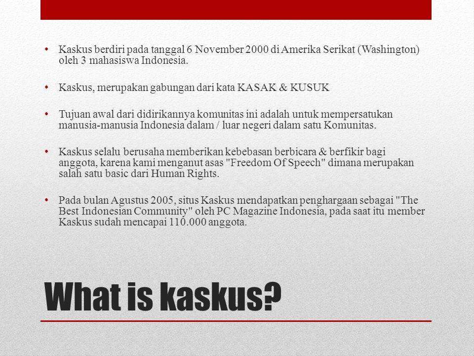 What is kaskus.