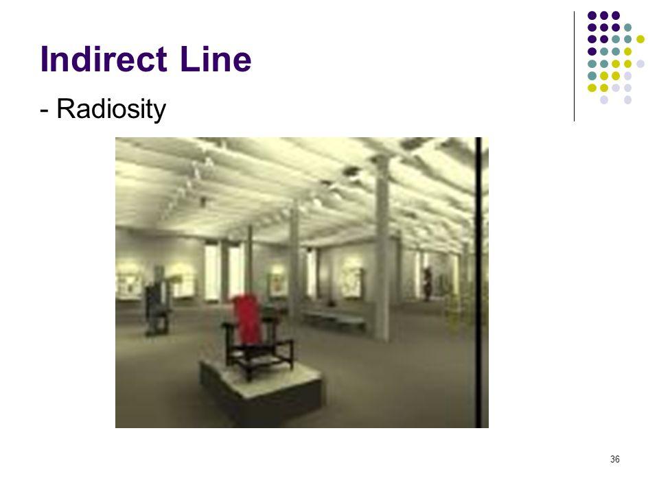 Indirect Line - Radiosity 36