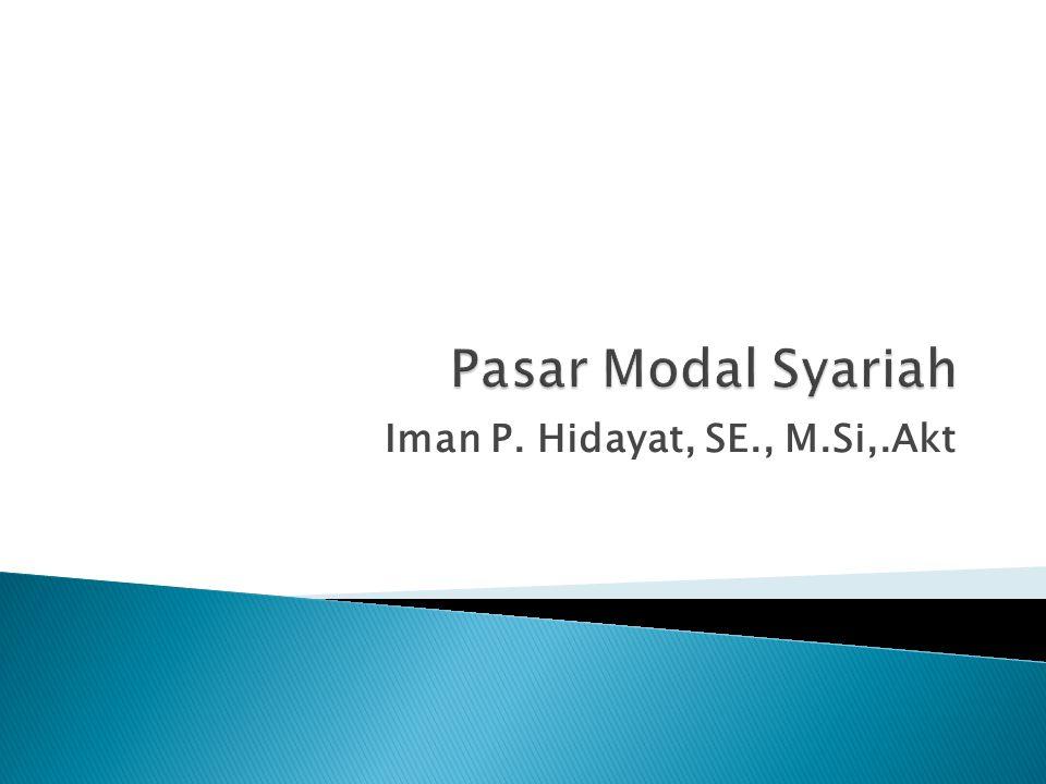 Iman P. Hidayat, SE., M.Si,.Akt