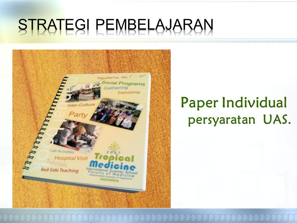 Paper Individual persyaratan UAS.