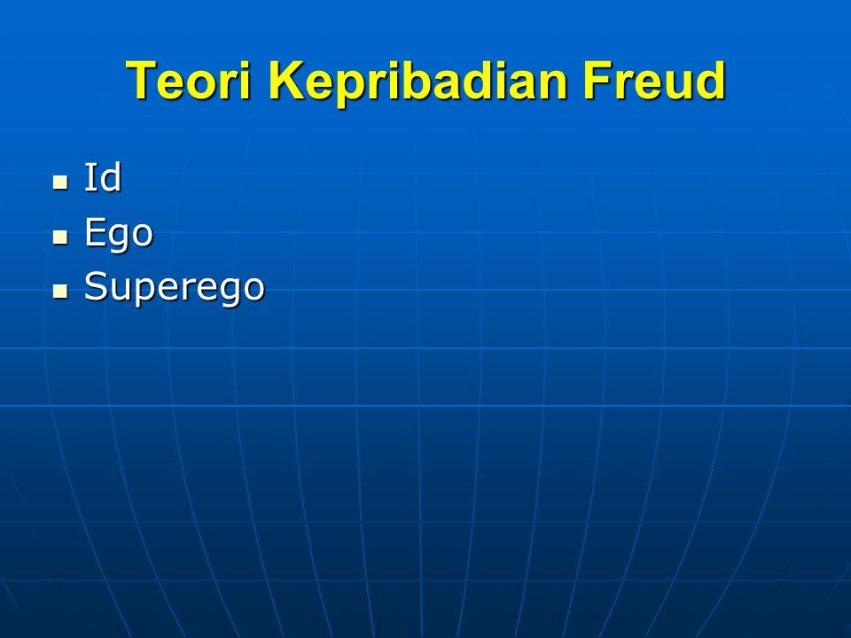 Teori Kepribadian Freud Id Id Ego Ego Superego Superego