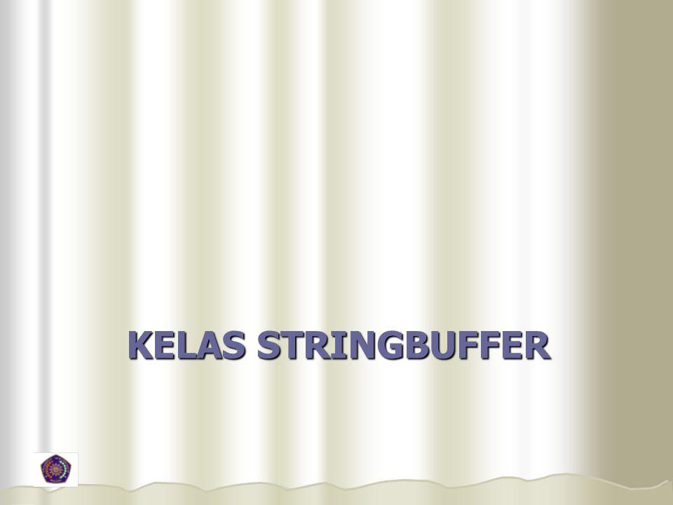 KELAS STRINGBUFFER