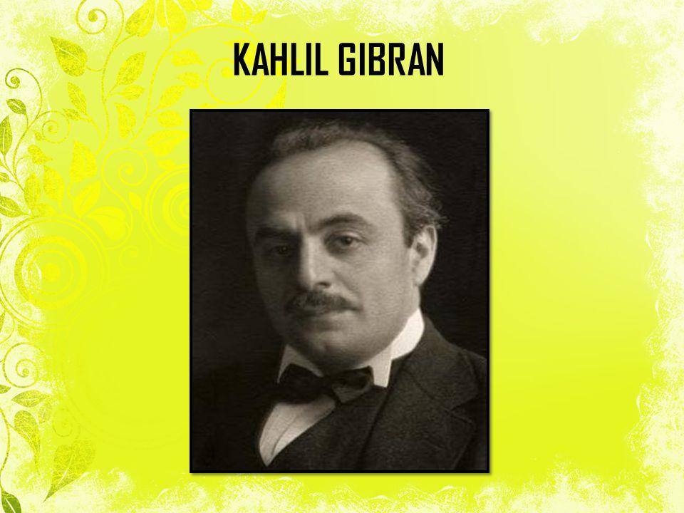 Kahlil Gibran lahir pada tanggal 6 Janiuari 1883 di Beshari, Lebanon.