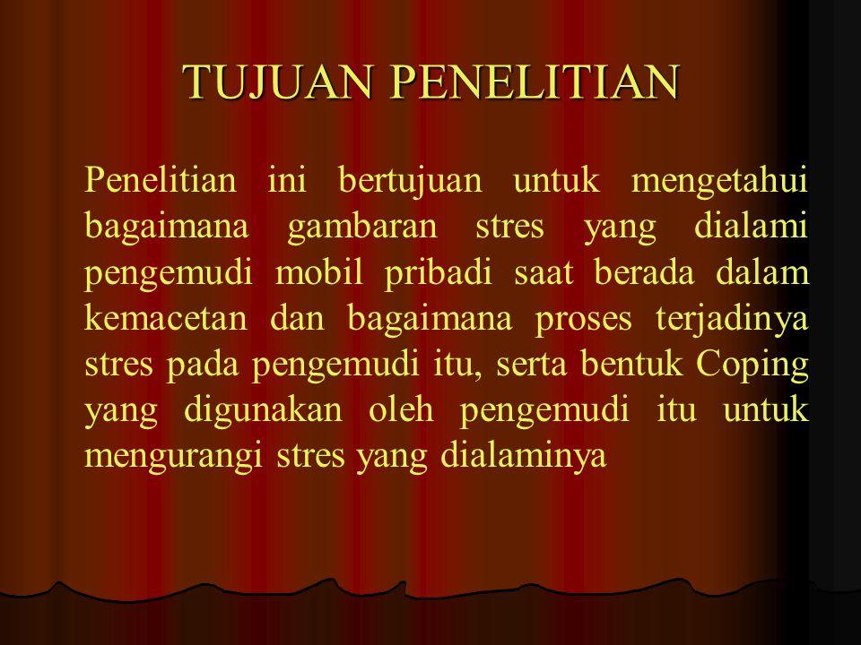 MANFAAT PENELITIAN 1.