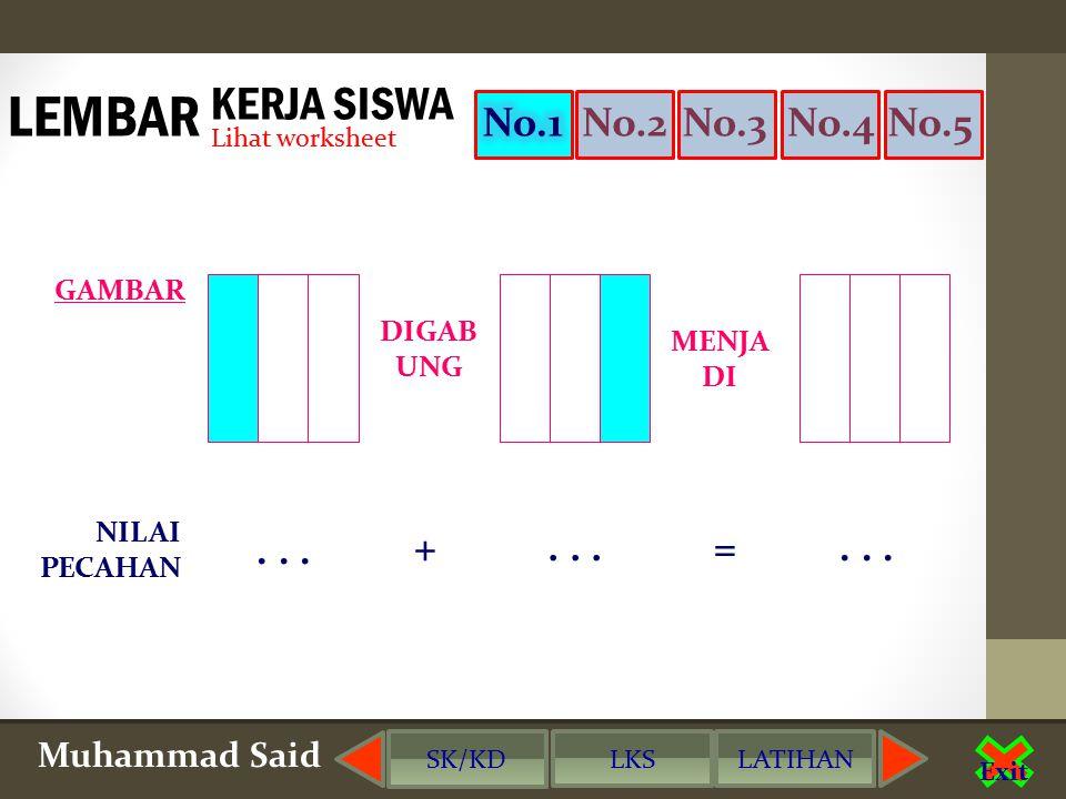 saidmatics@gmail.com Muhammad Said Exit Roti DIGAB UNG SAMA DENG AN Sisa Dimakan adik...