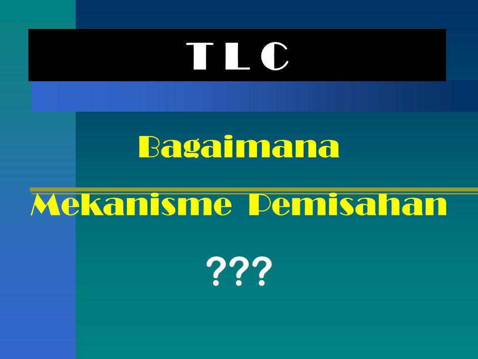 T L C Bagaimana Mekanisme Pemisahan ???