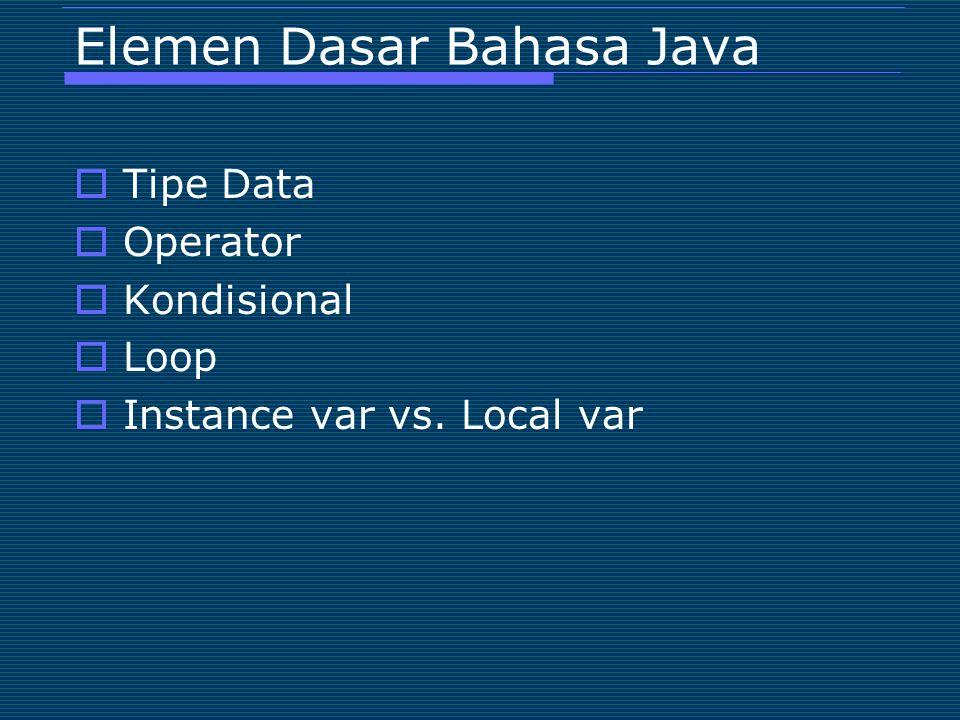 Looping (5)  for-each loop for ( : ) ;