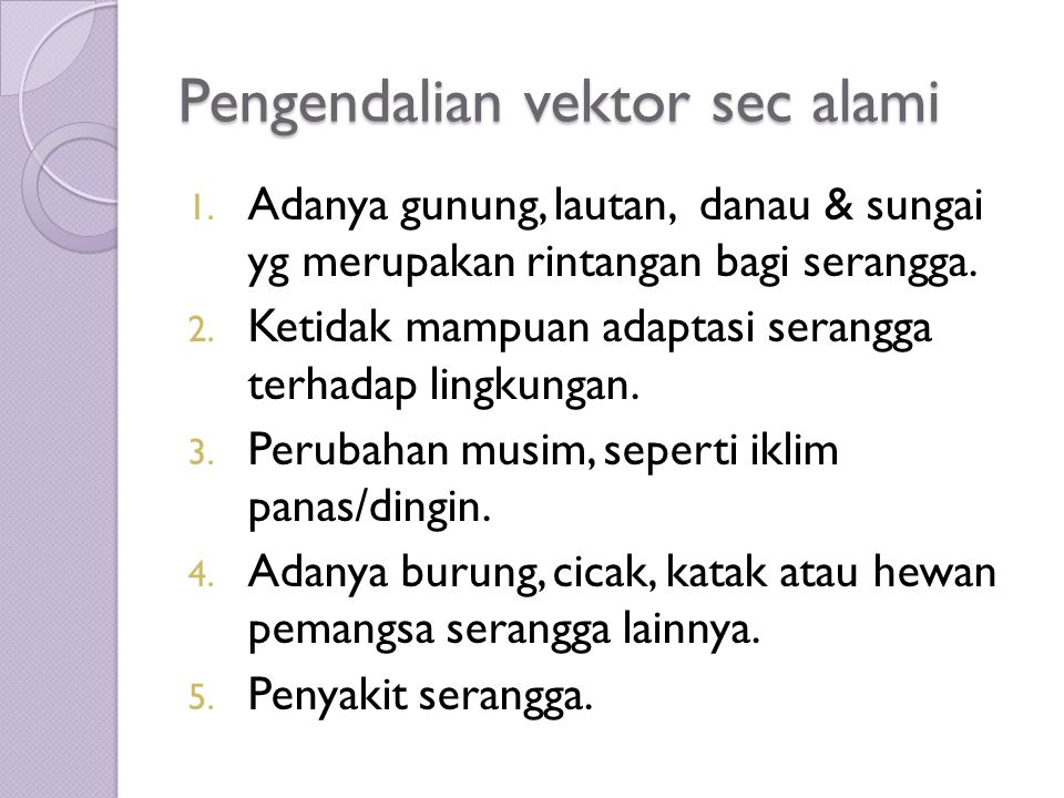 Pengendalian vektor sec alami 1.
