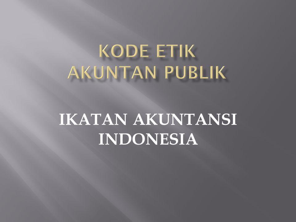 IKATAN AKUNTANSI INDONESIA