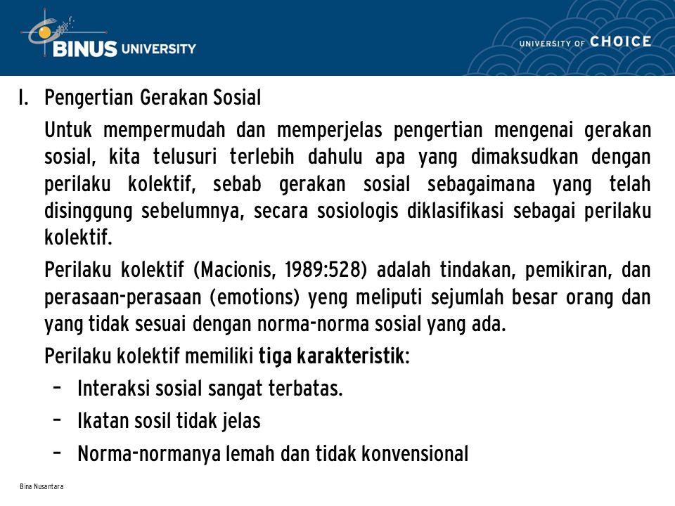 Bina Nusantara I.